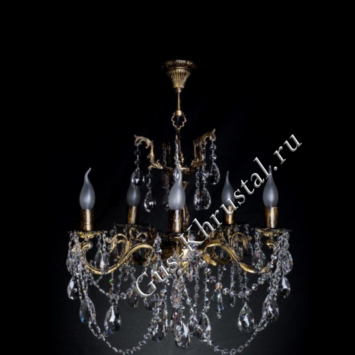 Люстра бронзовая № 2 (5 ламп)