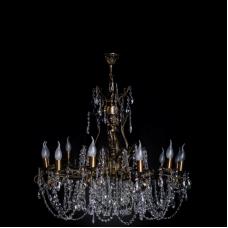 Люстра бронзовая № 5 (12 ламп)